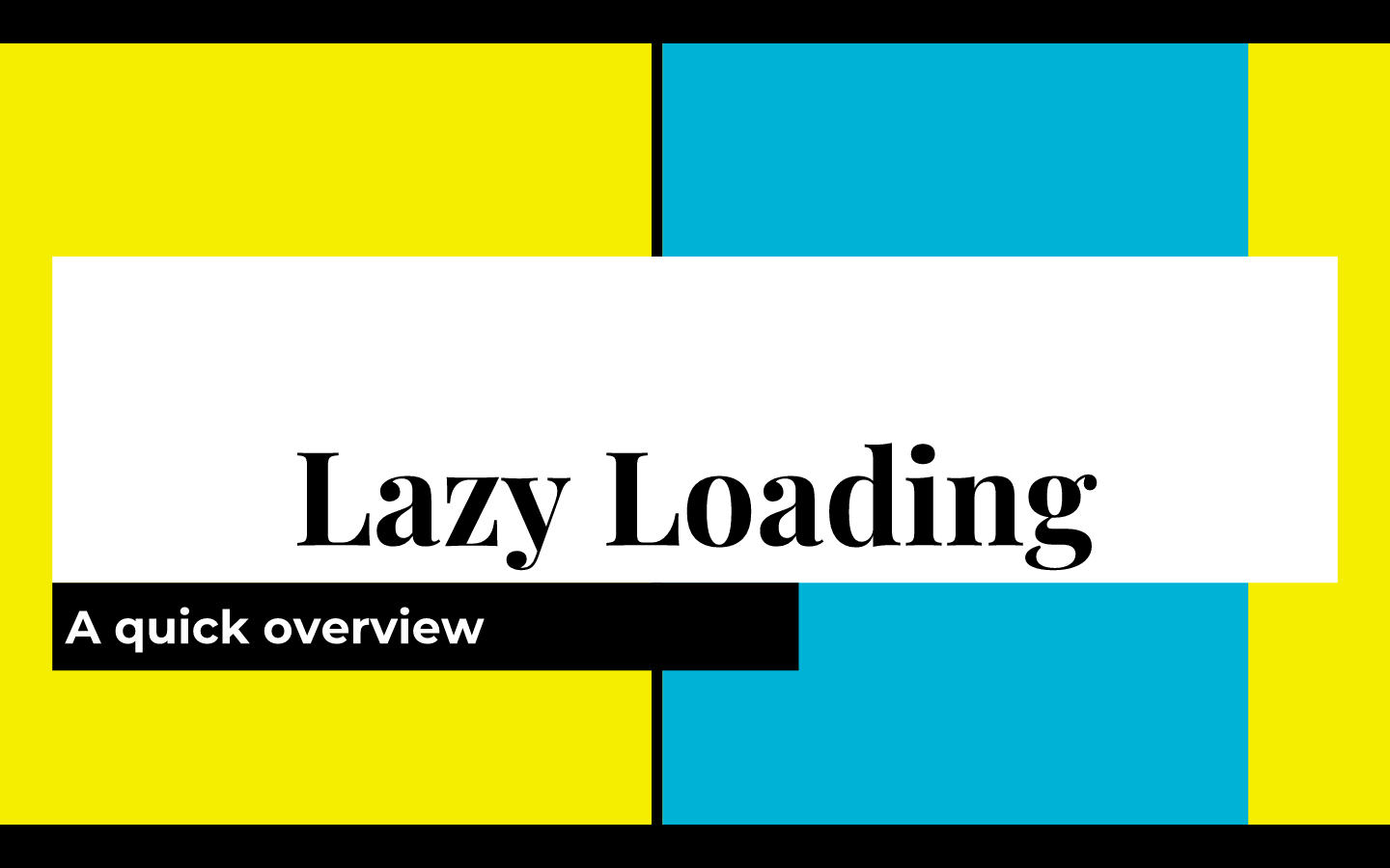 lazy loading slides